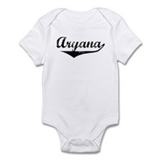 Aryana Vintage (Black) Infant Bodysuit