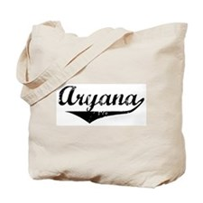 Aryana Vintage (Black) Tote Bag