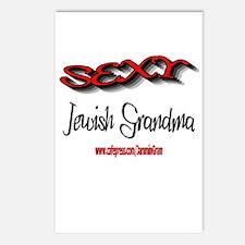 SEXY JEWISH GRANDMA Postcards (Package of 8)