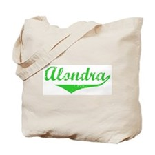 Alondra Vintage (Green) Tote Bag