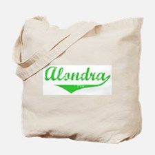 Alondra Vintage (Green) Tote Bag