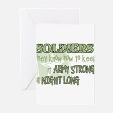 Unique Proud army girlfriend Greeting Cards (Pk of 10)