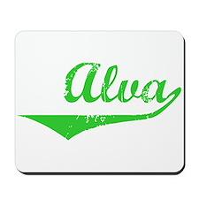 Alva Vintage (Green) Mousepad
