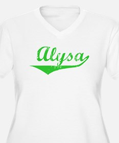 Alysa Vintage (Green) T-Shirt