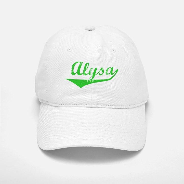 Alysa Vintage (Green) Baseball Baseball Cap
