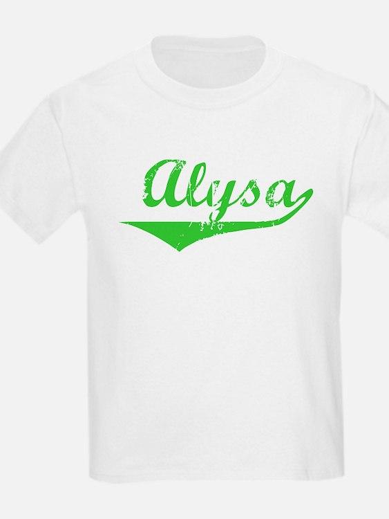 Alysa Vintage (Green) T-Shirt
