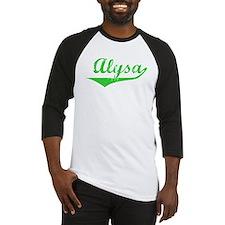 Alysa Vintage (Green) Baseball Jersey