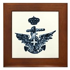 Regia Marina Framed Tile