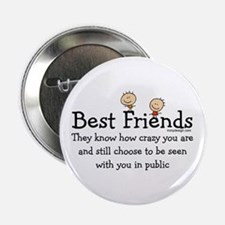"Best Friends 2.25"" Button"