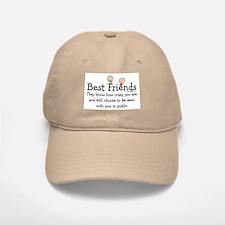 Best Friends Baseball Baseball Cap