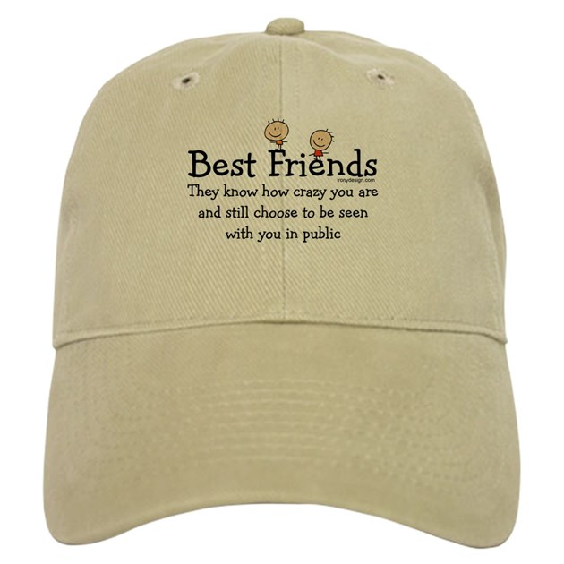 Best friends cap by ironydesigns