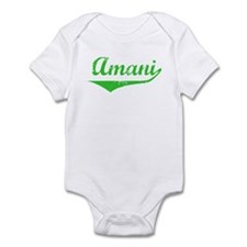 Amani Vintage (Green) Infant Bodysuit