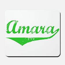 Amara Vintage (Green) Mousepad