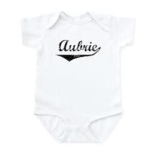 Aubrie Vintage (Black) Infant Bodysuit