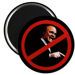 Against Fred Thompson Campaign Magnet