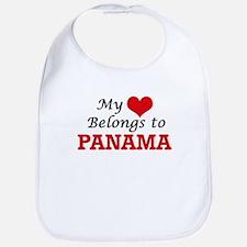 My Heart Belongs to Panama Bib