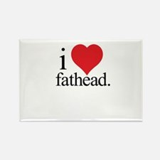 Anti Heart Fathead Rectangle Magnet