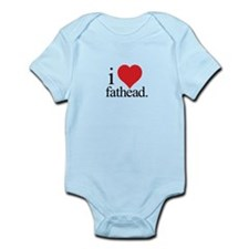 Anti Heart Fathead Infant Bodysuit