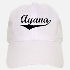 Ayana Vintage (Black) Cap