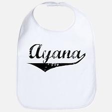 Ayana Vintage (Black) Bib