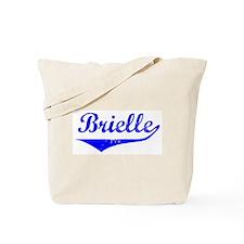 Brielle Vintage (Blue) Tote Bag