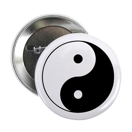 "Yin and Yang 2.25"" Button (100 pack)"