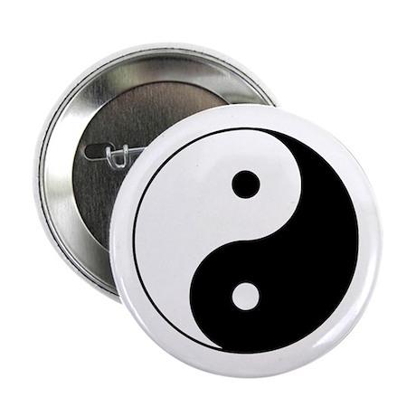 "Yin and Yang 2.25"" Button"