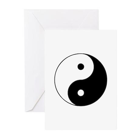 Yin and Yang Greeting Cards (Pk of 10)