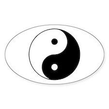 Yin and Yang Decal