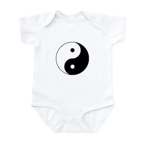 Yin and Yang Infant Bodysuit
