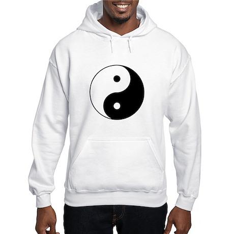 Yin and Yang Hooded Sweatshirt