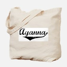 Ayanna Vintage (Black) Tote Bag