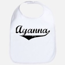 Ayanna Vintage (Black) Bib