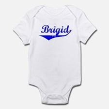 Brigid Vintage (Blue) Infant Bodysuit