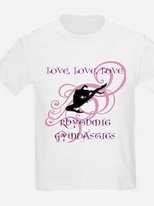Love, Love, Love Rhythmic Gym T-Shirt