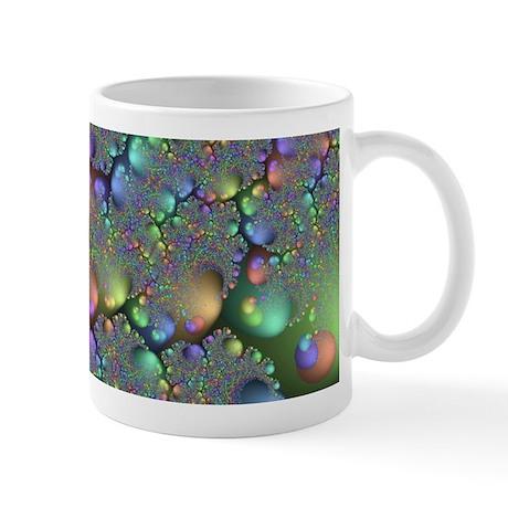 Metallic Stones Fractal Mug