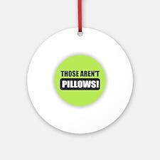Pillows Round Ornament