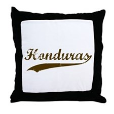 Vintage Honduras Retro Throw Pillow