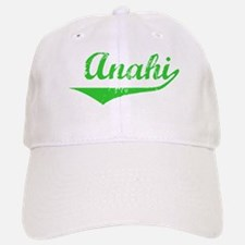 Anahi Vintage (Green) Baseball Baseball Cap