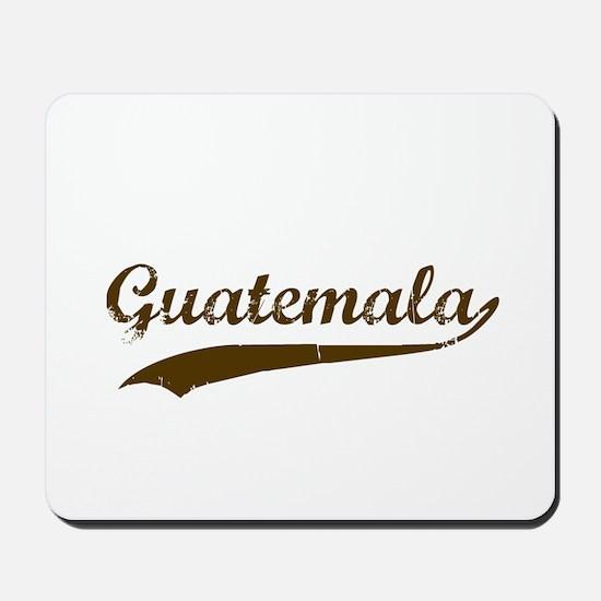 Vintage Guatemala Retro Mousepad