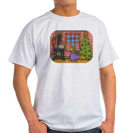Christmas Cabin Light T-Shirt