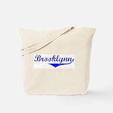 Brooklynn Vintage (Blue) Tote Bag