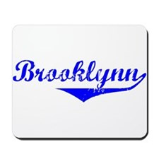 Brooklynn Vintage (Blue) Mousepad