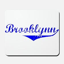 Brooklynn Vintage (Blue) Mousepad