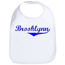 Brooklynn Vintage (Blue) Bib
