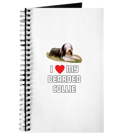 I love My Bearded Collie Journal
