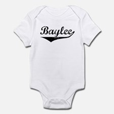 Baylee Vintage (Black) Infant Bodysuit