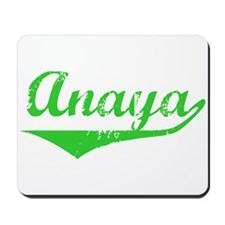 Anaya Vintage (Green) Mousepad