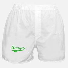 Anaya Vintage (Green) Boxer Shorts