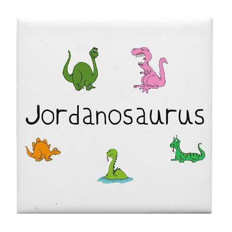 Jordanosaurus Tile Coaster
